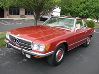 1973 Mercedes 450 SL - Classic Car Auto Inspection
