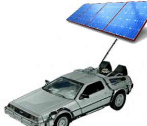 A Solar-Powered DeLorean?
