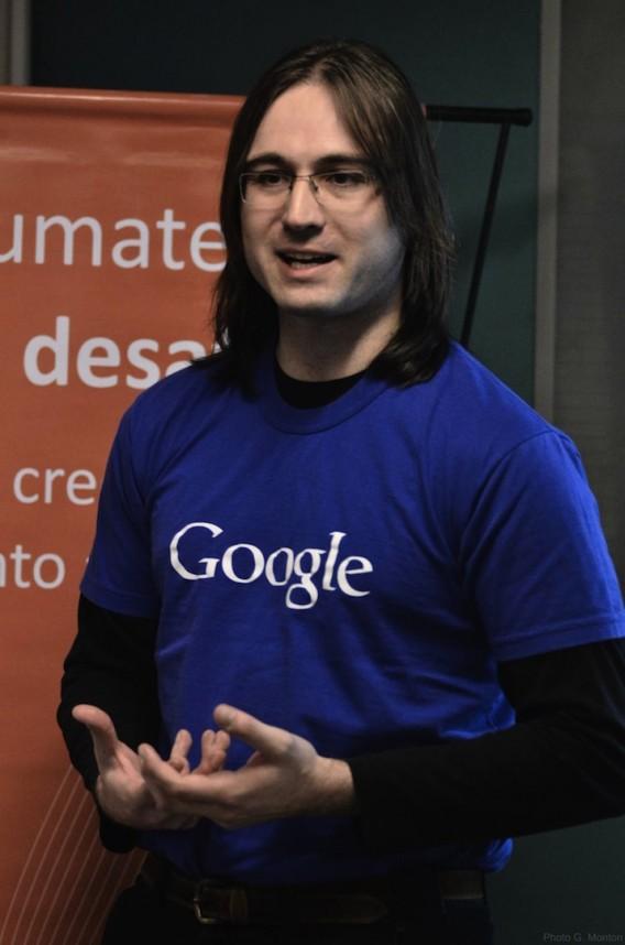 Google's Nicolas Bortolotti at Belatrix Software Factory