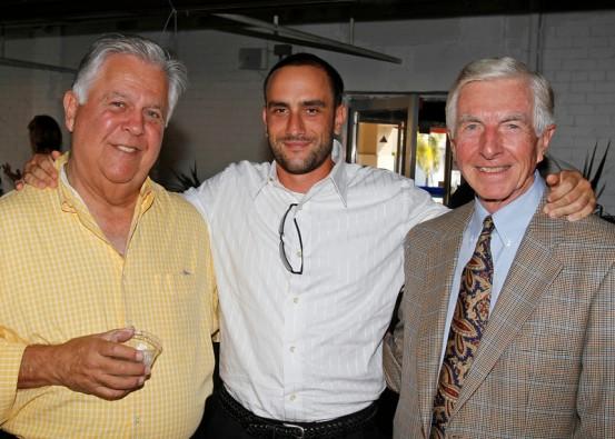 Ted Task, Desmond Price and Frank Hogan