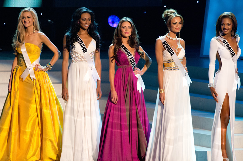 Miss USA 2012 Top Five Finalists