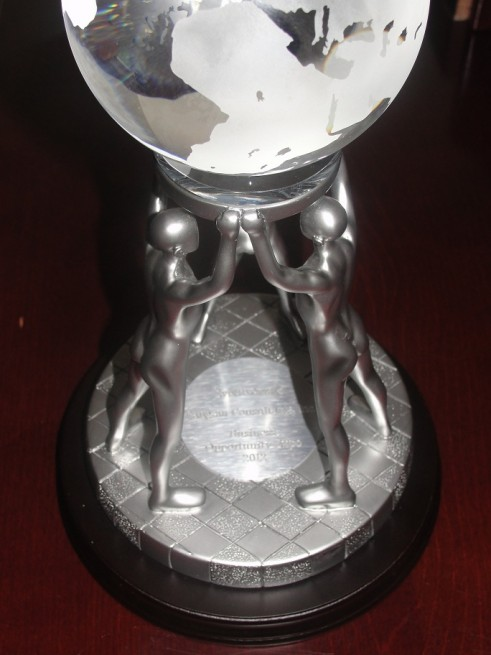 Rangam Evolve Award by Council NYNJMSDC- Business Opportunity Expo 2012
