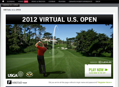 2012 Viral U.S.Open by Lexus