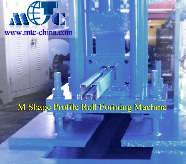 M Shape Profile Roll Forming Machine,M Steel Frame Roll Forming