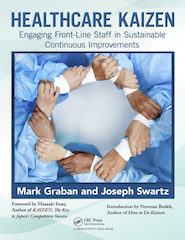 Healthcare Kaizen by Mark Graban & Joseph E. Swartz, Cover