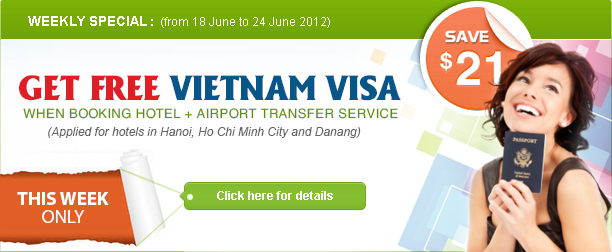 Special Promotion from Vietnamhotels.net