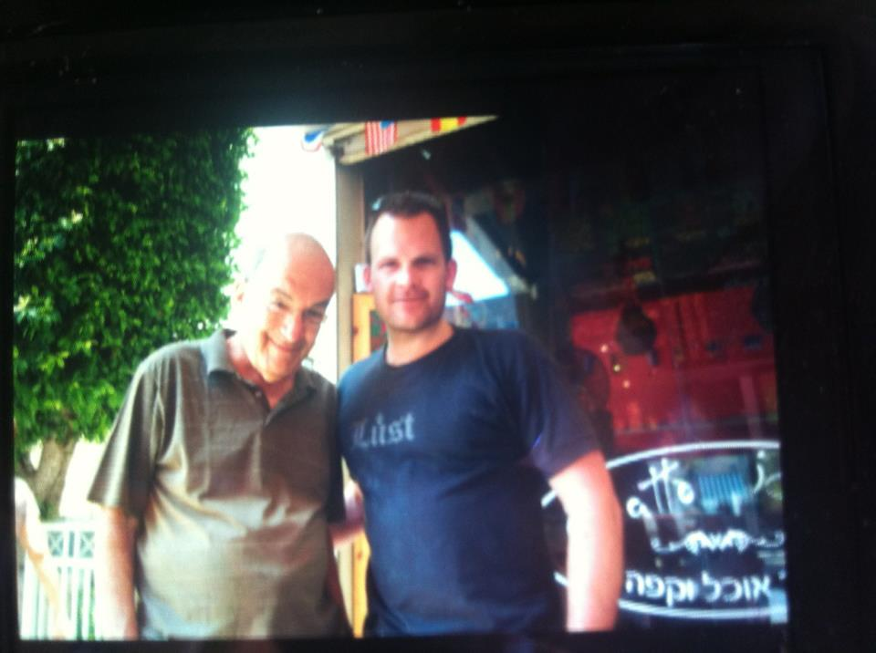 Yossi Sarid and John Ross Palmer