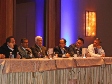 Panel discussion during coolingZONE-11