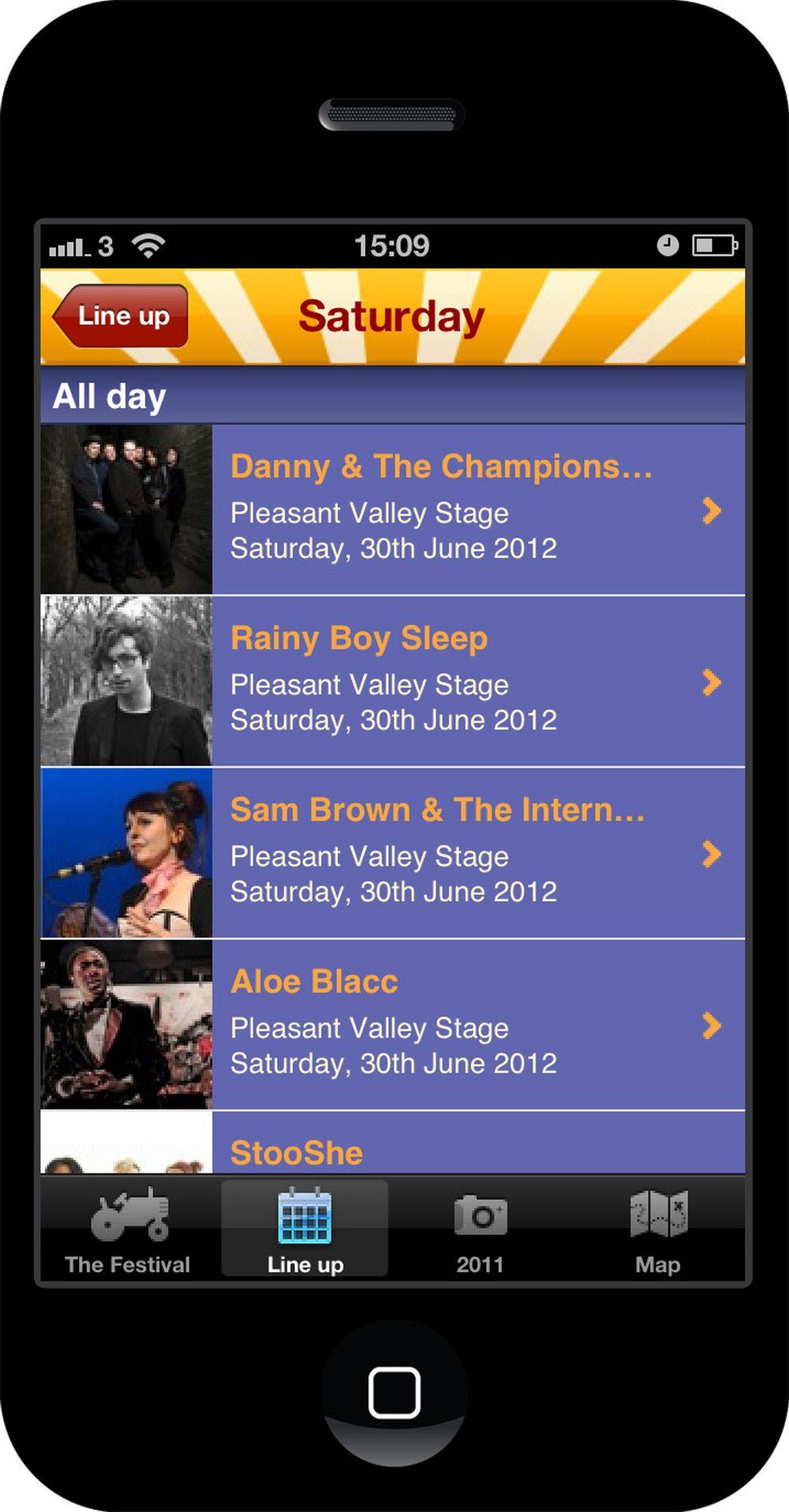 Cornbury Festival 2012 line ups