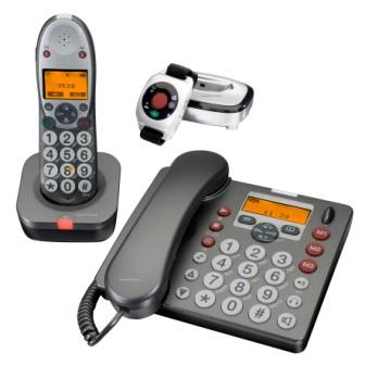 Medical Alert With Answering Machine Package