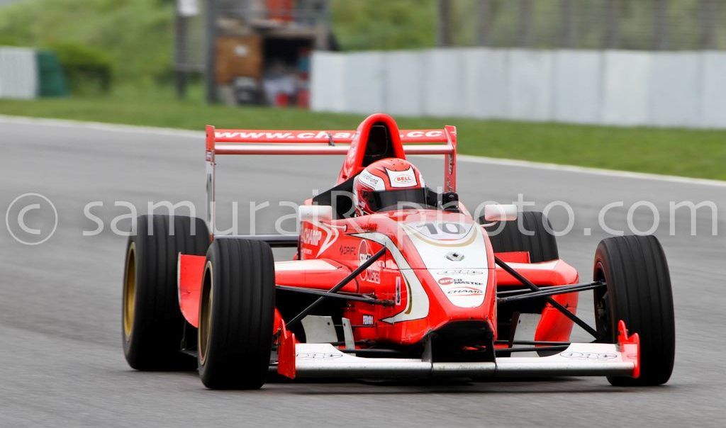 Pete Olson Formula Renault Asia