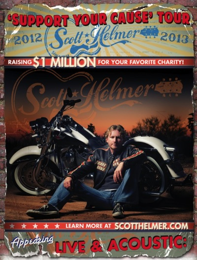 "Scott Helmer's ""Support YOUR Cause Tour 2012-2013"""