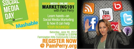 pam perry logo social media day 2012