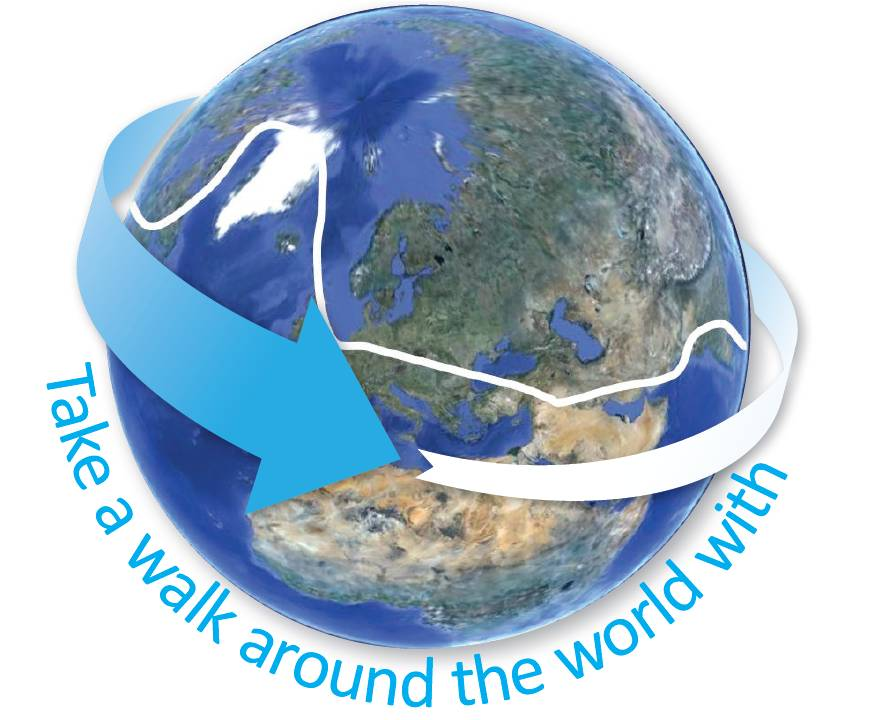 Walk around the World with Activ8rlives