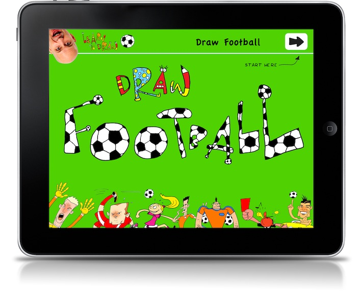 New Earthtree app Draw Football