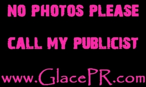 GlacePR NO PHOTOS Signature  Logo