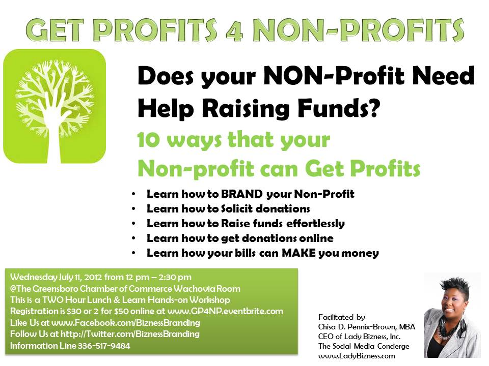 how to start a nonprofit business in nc
