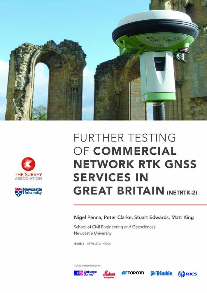 Guidance Note - Network RTK GNSS Report 2012 Front