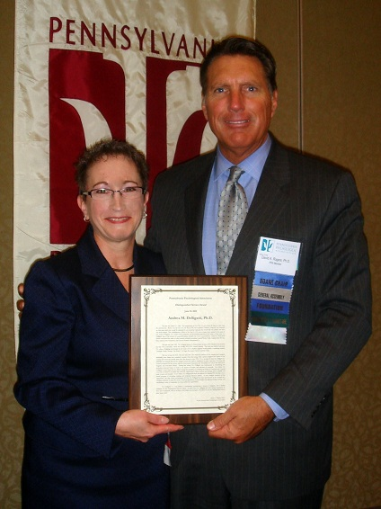 Dr. Andrea Delligatti Receives PPA's Distinguished Service Award