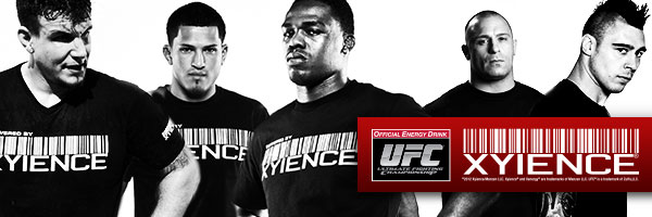 XYIENCE athletes Frank Mir, Anthony Pettis, Jon Jones, Matt Serra, Dan Hardy