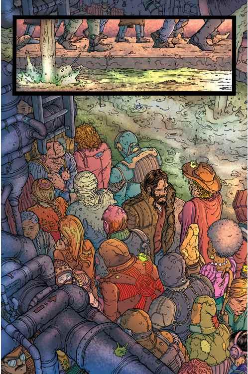 Chris Burnham Amory Wars Vol. 3 # 2-LO
