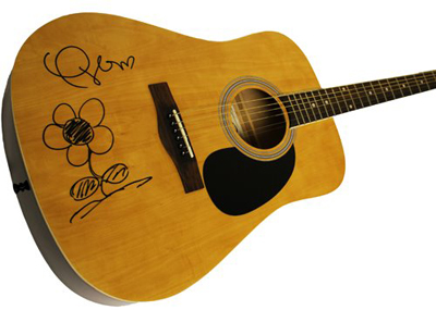 Taylor Swift Autographed Guitar