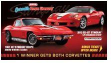 One Winner Gets Both Corvettes!