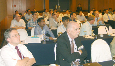 Attendees at UPW Asia 2011.