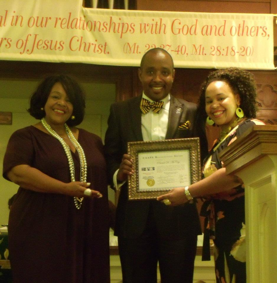 Coalition for African Americans in the Performing Arts recognized McCoy.