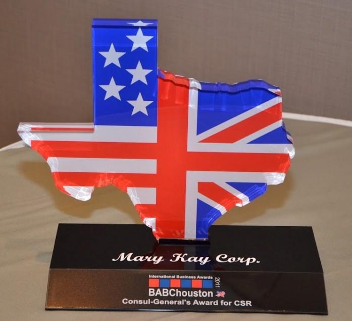 A unique trophy for a unique awards programme