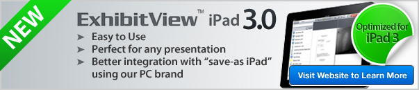 ExhibitView iPad Info Ad