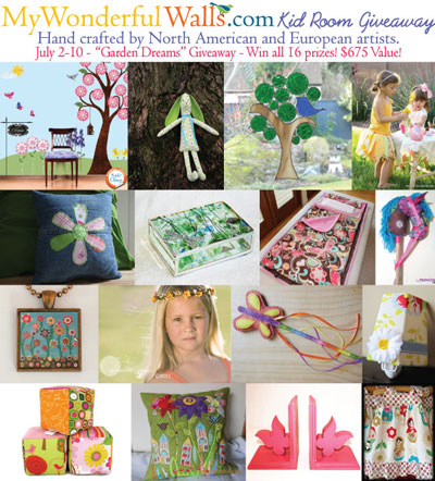 Garden Dreams Giveaway - hosted by My Wonderful Walls