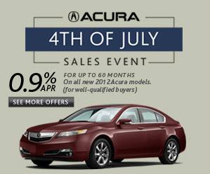Vandergriff Acura July 4th Apr Specials At Dallas Acura