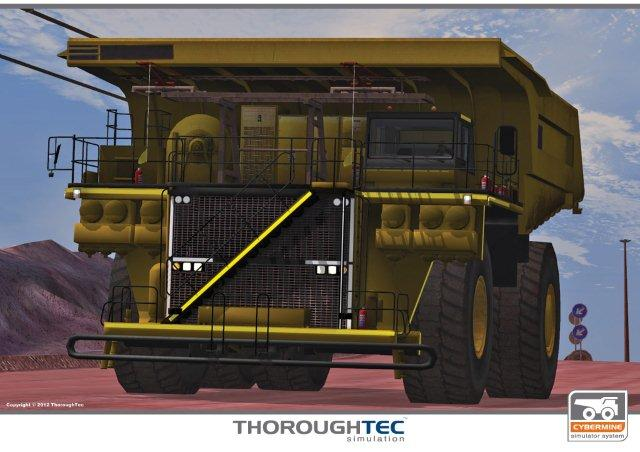 CYBERMINE Haul Truck Simulator