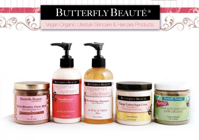 Butterfly Beaute's organic products are quickly gaining popularity