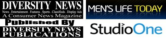 Studio One and Diversity News Magazine logos