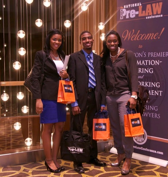 Attendees at The National Black Pre-Law Conference