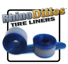 The best bicycle flat prevention product - RhinoDillos Tire Liners