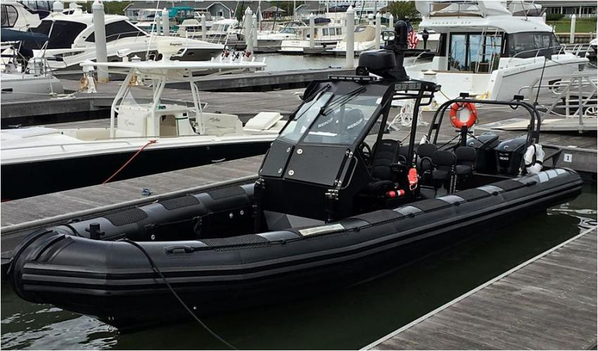 Law Enforcement Rigid Hull Inflatable Boat (RHIB)