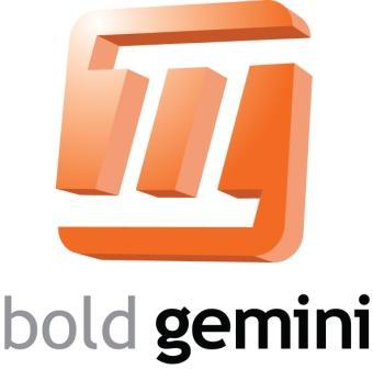 Bold Gemini Logo