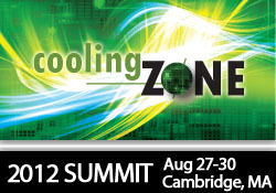 coolingZONE Summit 2012 Cambridge MA, August 28-30