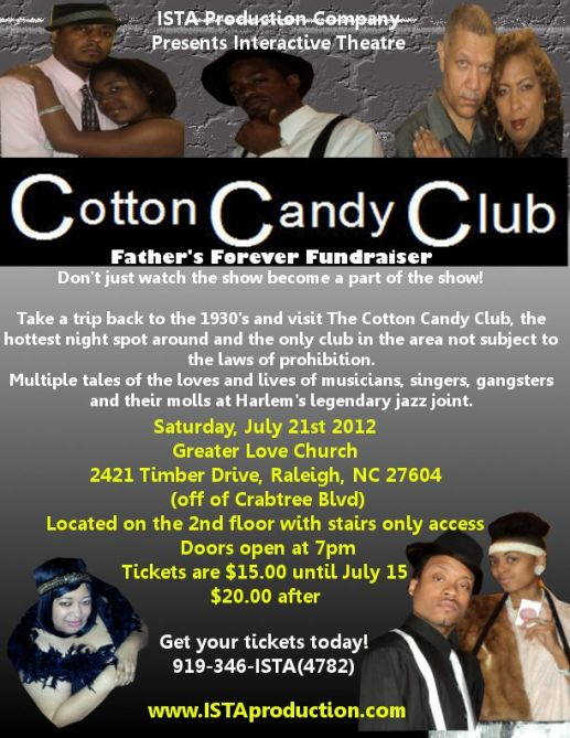 Cotton Candy Club flyer
