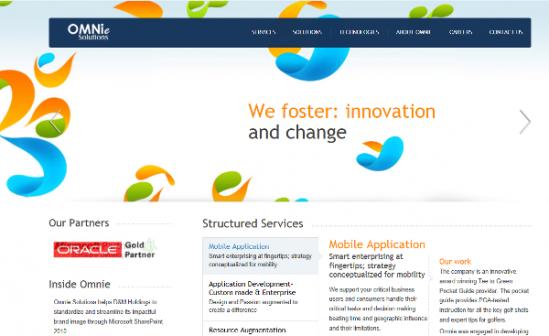 Omnie New Website