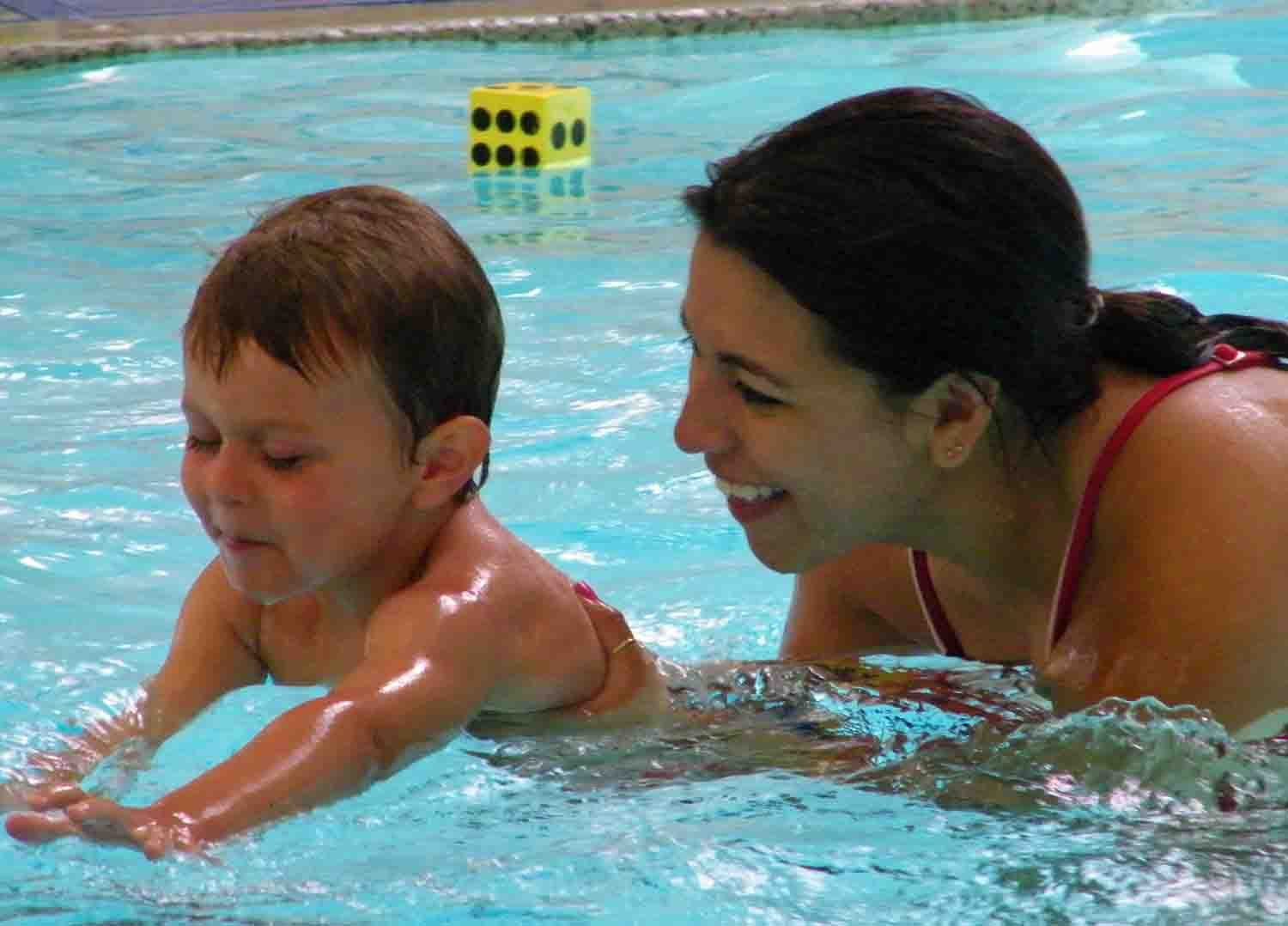 Summer swim lessons at the Conejo Valley YMCA