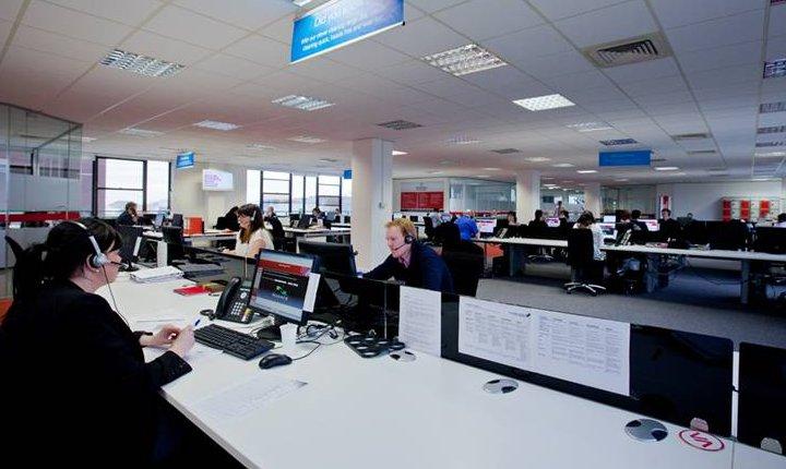 Ventrica's modern contact centre