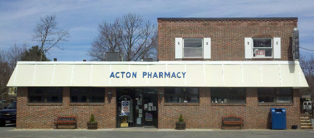Acton Pharmacy's Store Front