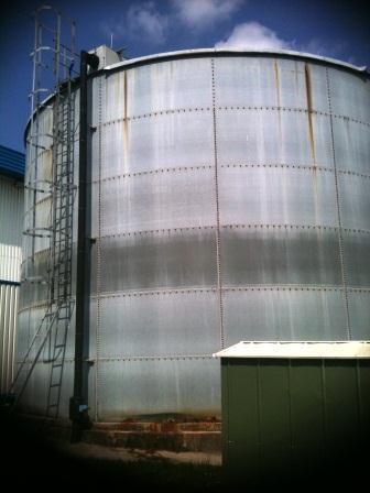 Sprinkler Tank External