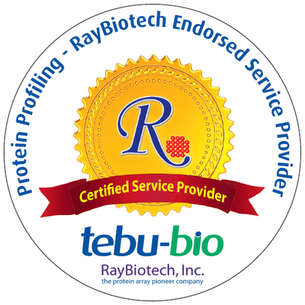 tebu-bio is a RayBiotech Certified Service Provide