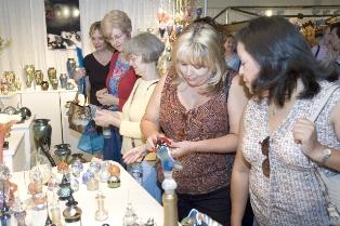 Ladies Shopping at Harvest Festival