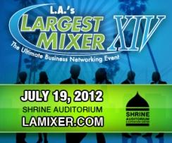 L.A.'s Largest Mixer 2012